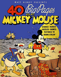 40 Page of Mickey Mouse 1936