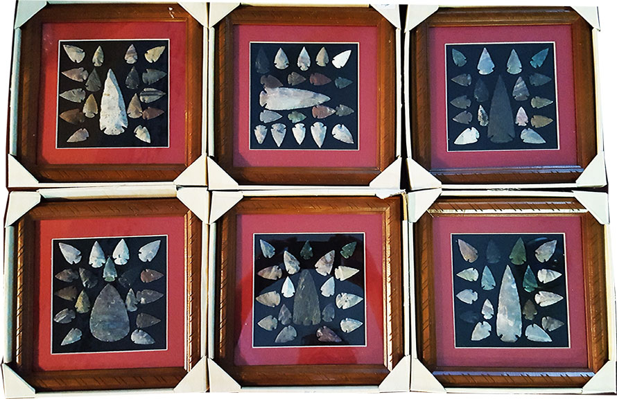 Arrowhead collections