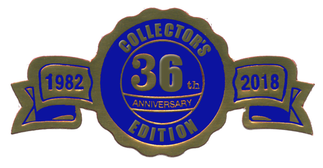 Collector's Edition 36th Anniversary Logo