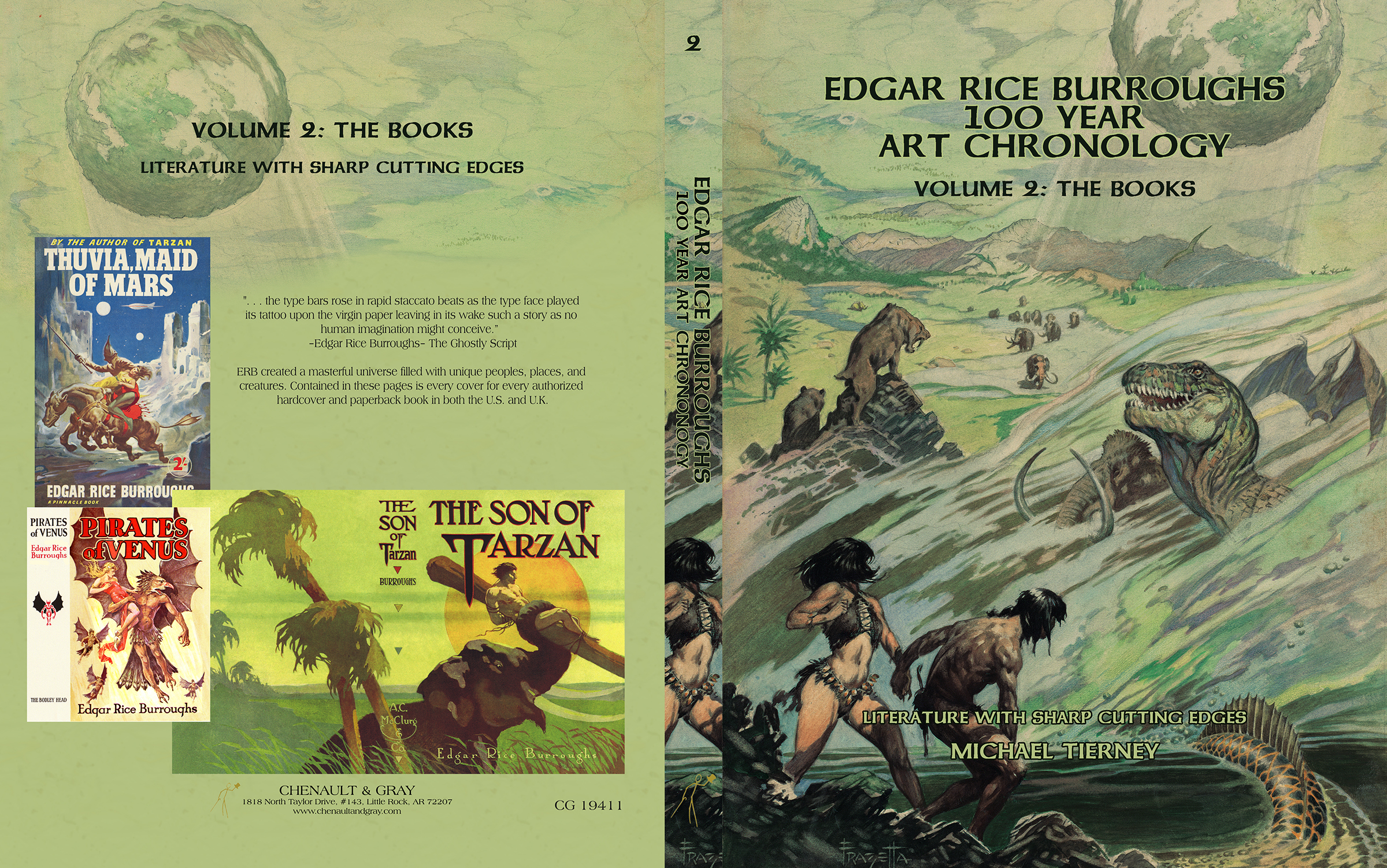 ERB Art Chonology V2 wraparound cover.