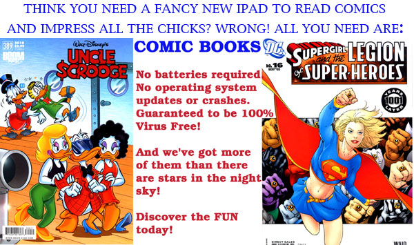 All you need are comics!