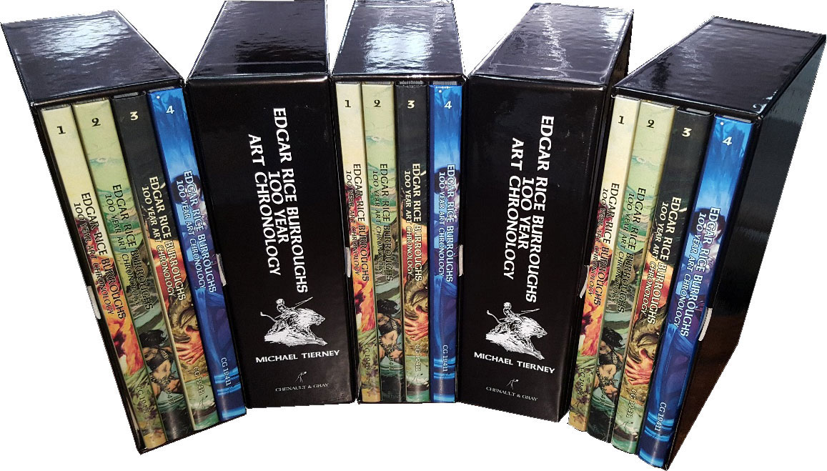 ERB Art Chronology in slipcase