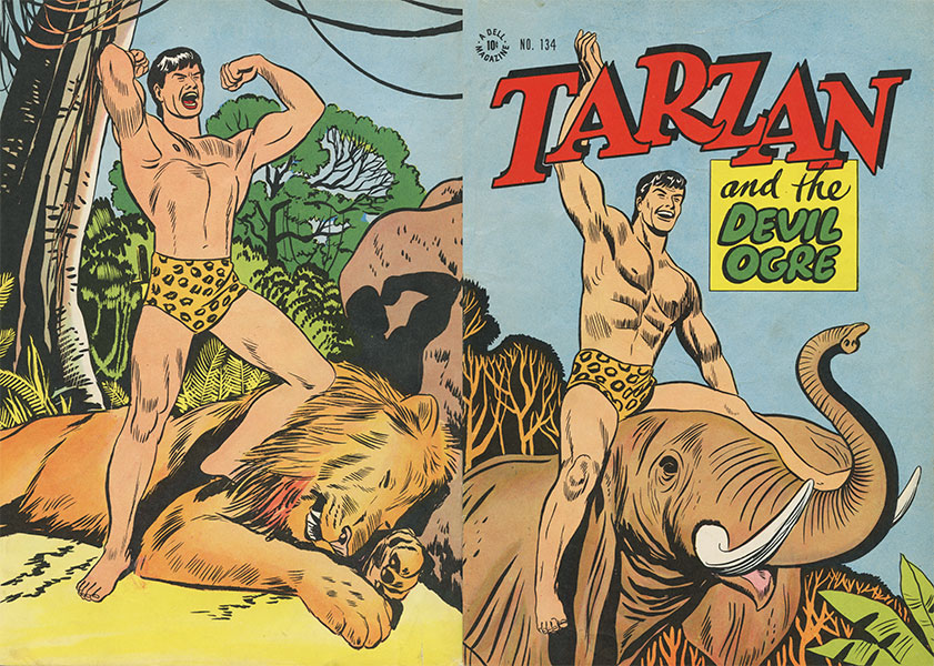 Tarzan Four Color #134