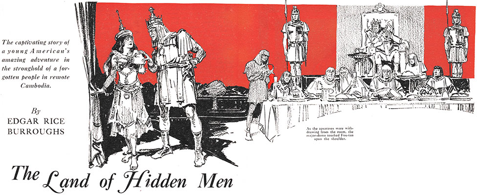 Land of Hidden Men May 1931 header