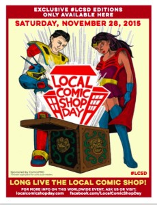 Local Comic Shop Day 2015