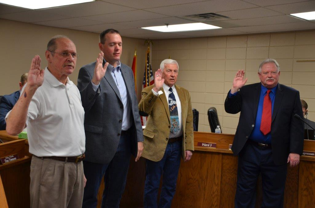 Maumelle City Council Swearing In 2019