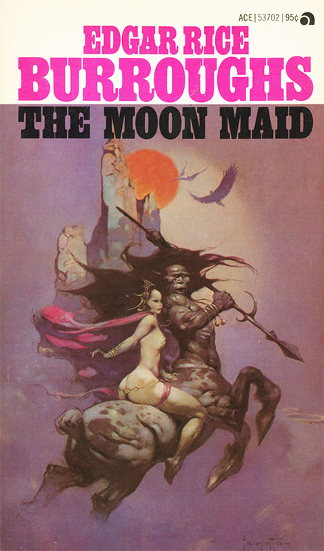 Moon Maid by Frank Frazetta