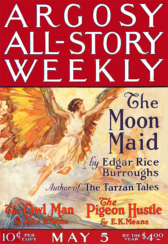 Moon Maid Argosy All-Story Weekly