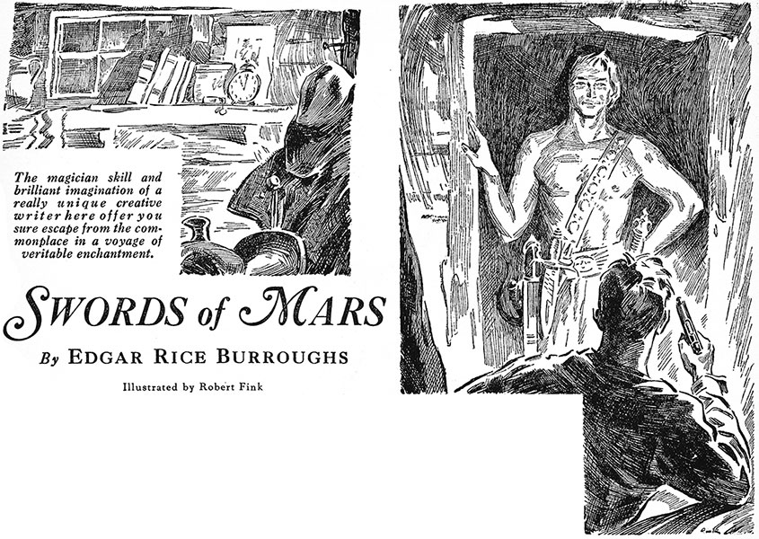 Swords of Mars Blue Book