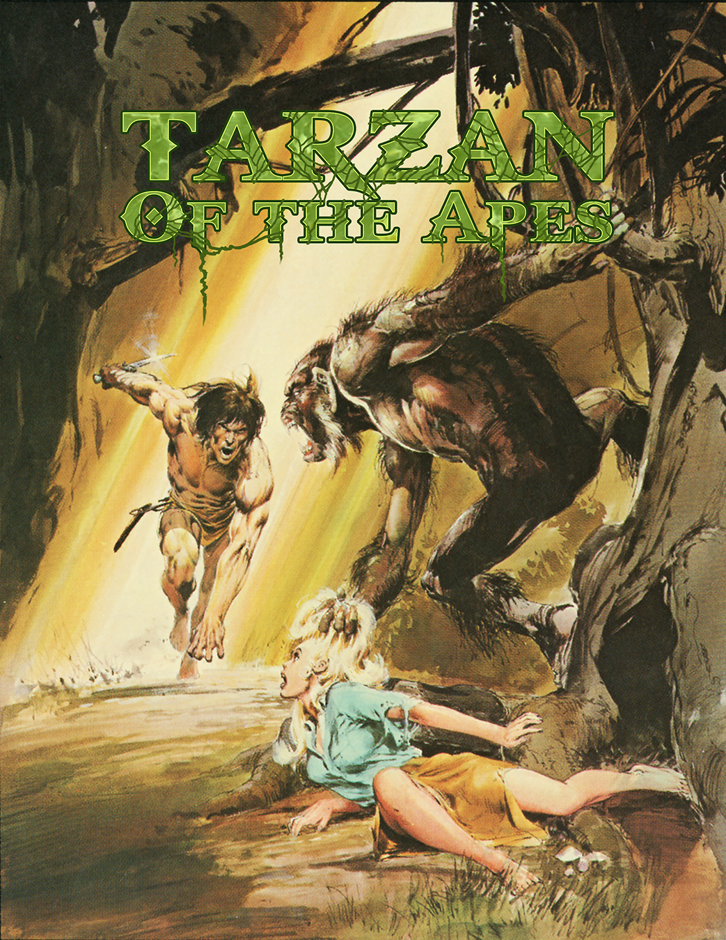 Chenault Gray Tarzan of the Apes cover.