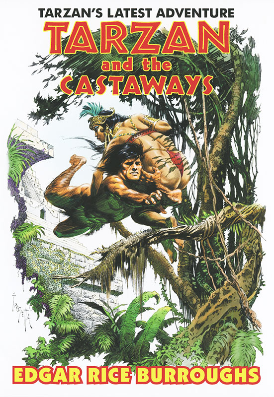 Tarzan and the Castaways variant cover