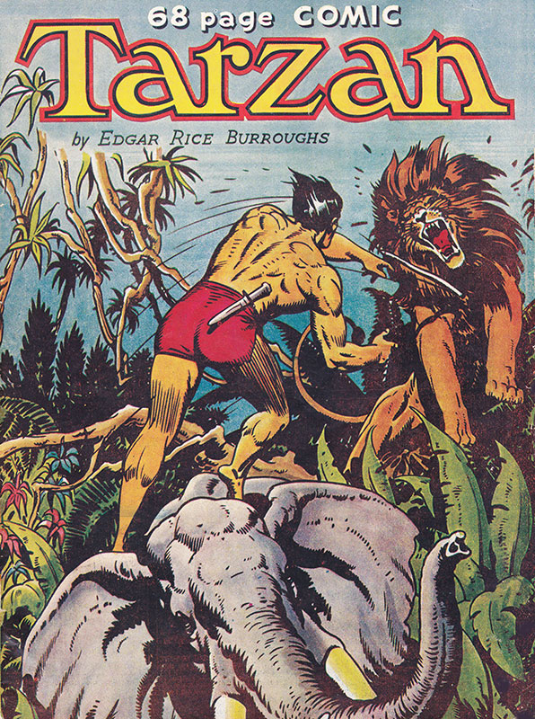 Tarzan Comic #2 by Dependable Comics 1950