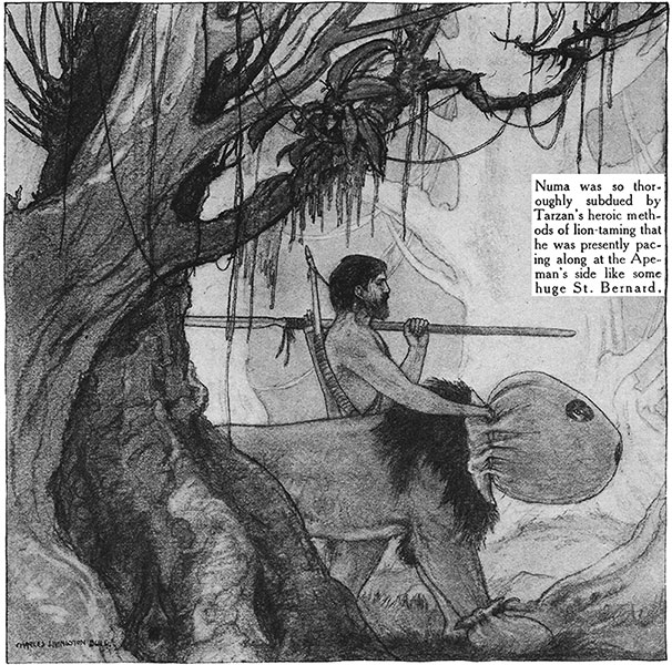 Red Book Tarzan interior illustration