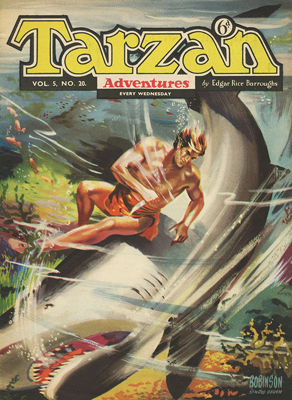 Tarzan Adventures Vol. 5 #20